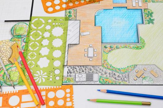 Residential hardscape design